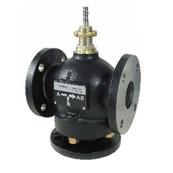 """3"""" Flanged Cast Iron Mixing Valve (101 cv) Product Image"""