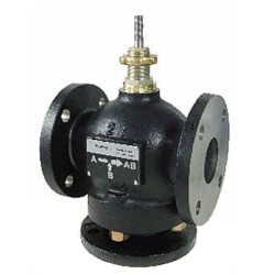 """6"""" Flanged Cast Iron Mixing Valve (390 cv) Product Image"""