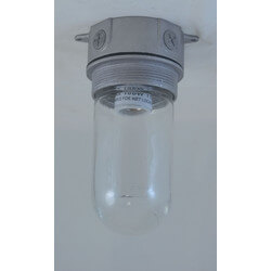"""Vapor Proof Fixture with 1/2"""" Knockouts (100W) Product Image"""