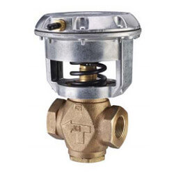 """1/2"""" NPT Normally Open 2-Way Globe Valve, 3 to 6 psig (0.73 Cv) Product Image"""