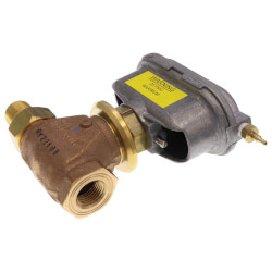 "2-Way Normally Open 1/2"" VG7000 Series Brass Trim Globe Valve w/ V3800 Compact Pneumatic Actuator"