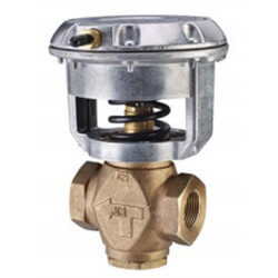 """1-1/4"""" NPT Normally Closed 2-Way Globe Valve, 3 to 6 psig (18.5 Cv) Product Image"""