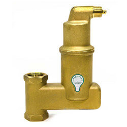 "1"" Spirovent Jr. Vertical Air Eliminator (Threaded)"