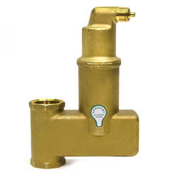"1-1/4"" Spirovent Jr. Vertical Air Eliminator (Threaded)"