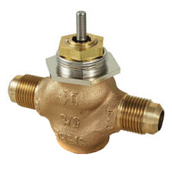"5/8"" O.D Flare Valve<br>5-10 PSI (.4 cv) Product Image"