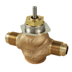 "5/8"" O.D Flare Valve<br>5-10 PSI (1.3 cv) Product Image"