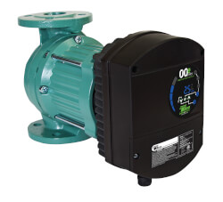 "Viridian High Efficiency Circulator w/ 1-1/2"" Flange (0.027-0.680 HP, 110-240V) Product Image"