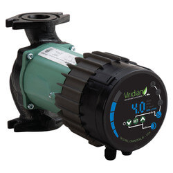 Viridian Self-Adjusting Wet Rotor Pump w/ Comm Module Less Flanges, Rotated (115V) Product Image