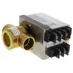 "3/4"" Sweat 2-Way PopTop Zone Valve w/ Terminal Block w/ End Switch (24V)"