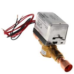 """3/4"""" Inverted Flare 2-Way Zone Valve w/ End Switch, inc. Sweat Fittings (24V) Product Image"""