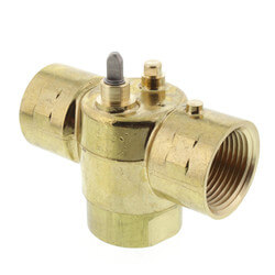 "1"" NPT 3-Way Zone Valve Body (8.0 Cv)"