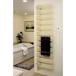 "23"" x 52"" Versus D-W Electric White Left Towel Radiator (VTRELD-5223) Product Image"