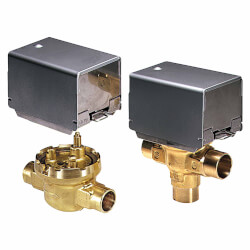 """Two-way Fan Coil Valve 1/2"""" NPT, 3.5 Cv Product Image"""