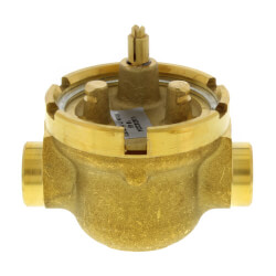 """Two-way Fan Coil Valve 3/4"""" NPT, 8.0 Cv Product Image"""