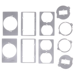 Double Gang 25-in-1 Vertical Multi-Use Cover (Grey) Product Image