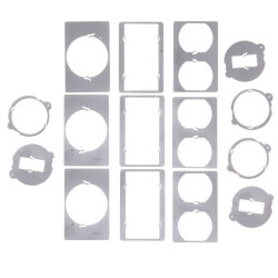 Triple Gang 125-in-1 Vertical Multi-Use Cover (Grey) Product Image