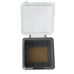Double Gang In-Use<br>31-in-1 Plastic Cover Product Image