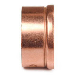 "2"" Copper DWV Adapter (C x No Hub)"