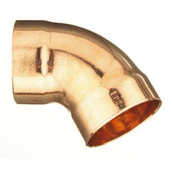 "1-1/2"" Copper DWV<br>45° Elbow Product Image"