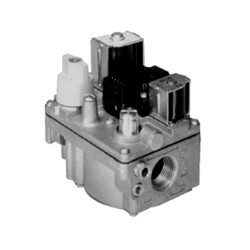 "1/2"" X 3/4"" Gas Valve, 24 VAC, Redundant (Pilot) Valve, Natural Gas Only, Cycle Pilot Valve"