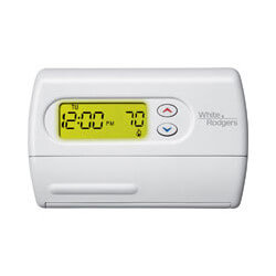 Multi-Stage Non-Programmable Thermostat, Horizontal
