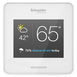 WiserAir with Eco IQ, Programmable, 3H/2C, Thermostat (White) Product Image