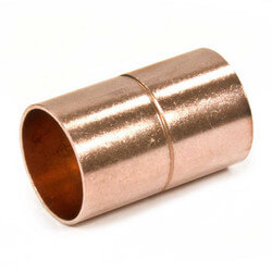 "1-1/2"" Copper Ring Coupling"