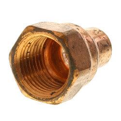 """3/8"""" x 1/2"""" Copper x Female Adapter"""