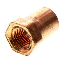 "1/2"" x 1/4"" Copper x Female Adapter"