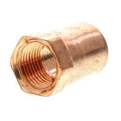"1/2"" x 3/8"" Copper x Female Adapter"