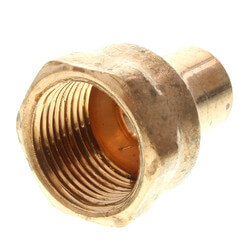 "1/2"" x 3/4"" Copper x Female Adapter"