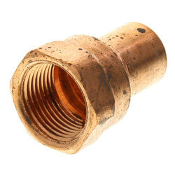 "5/8"" x 3/4"" Copper x Female Adapter"