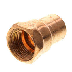"3/4"" Copper x Female Adapter"