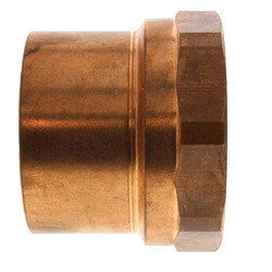 "3"" Copper x Female Adapter"