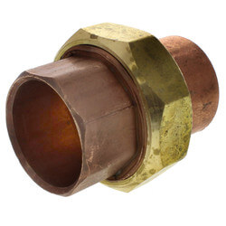 "1-1/4"" Copper Union"