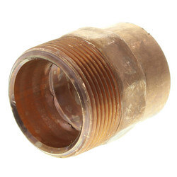 "1-1/2"" Copper x Male Adapter"