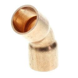 "1/8"" Copper 45° Elbow"
