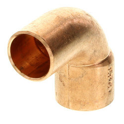 "3/8"" FTG x Copper<br>90° Street Elbow Product Image"