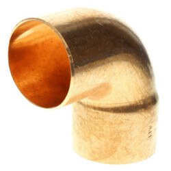 "2-1/2"" FTG x Copper<br>90° Street Elbow Product Image"