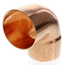 """3"""" FTG x Copper<br>90° Street Elbow Product Image"""