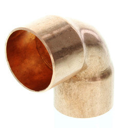 """1-1/4"""" Copper 90° Elbow Product Image"""