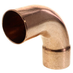 "3"" FTGxC 90° Long Turn Street Elbow"
