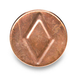 "1-1/2"" Copper DWV Test Cap"