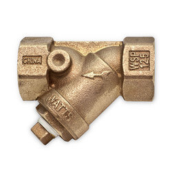 "1/2"" Bronze Wye Strainer, Lead Free (Threaded)"