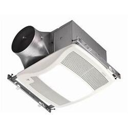 XB110HL 1 Speed Humidity Sensing Fan/Light<br>(110 CFM, <0.3 Sones) Product Image