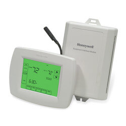 VisionPro IAQ Thermostat, Module, & Outdoor Sensor