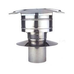 """4"""" Z-Vent Rain Cap Product Image"""