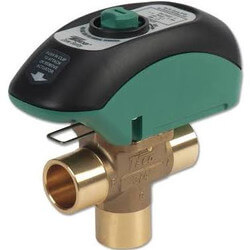 """1"""" 3-Way Zone Sentry Valve Normally Closed (Sweat) Product Image"""