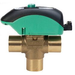 """1"""" Zone Sentry Valve<br>3 Way Normally Closed (Threaded) Product Image"""
