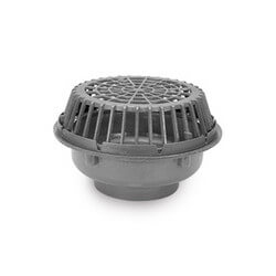 "12"" x 20"" Diameter High Capacity Main Roof Drain (No Hub Outlet) Product Image"